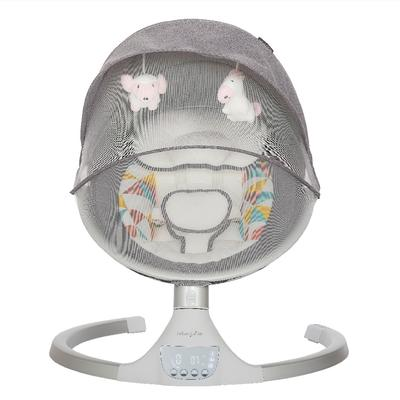Zazu Cradling Swing in Grey & Pink - Dream On Me 384-GP