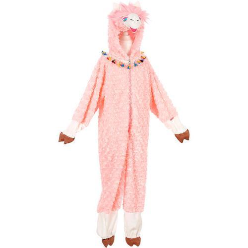 Kostüm Lama, rosa, Gr. 110/116