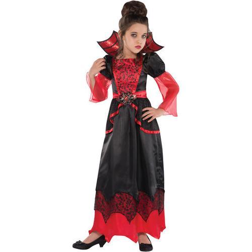 Kostüm Vampirella, bunt, Gr. 128/140