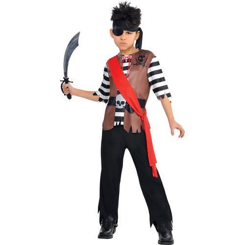 Kostüm Pirat, bunt, Gr. 128/140