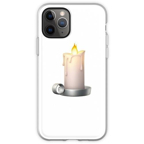 Kerze Emoji Flexible Hülle für iPhone 11 Pro