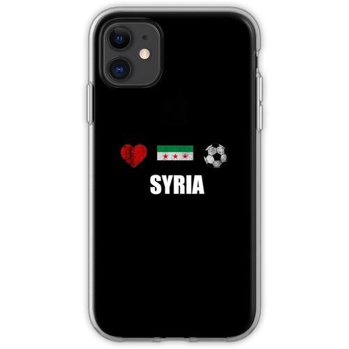 Syrien Fußballtrikot - Syrien Fußballtrikot Flexible Hülle für iPhone 11