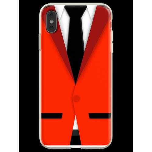 Jersey Jungen Anzug Flexible Hülle für iPhone XS Max