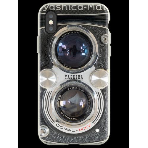 Yashica-Mat, Doppelobjektiv-Spiegelreflexkamera Flexible Hülle für iPhone XS