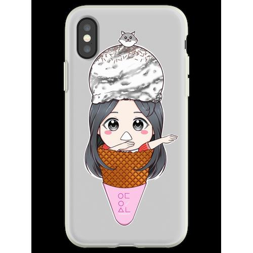 Olivia Hye Eiscreme Flexible Hülle für iPhone XS