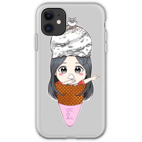 Olivia Hye Eiscreme Flexible Hülle für iPhone 11