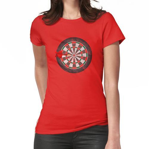 Vintage Darts Dartscheibe Frauen T-Shirt