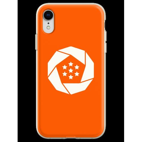 Erusische Flagge Flexible Hülle für iPhone XR