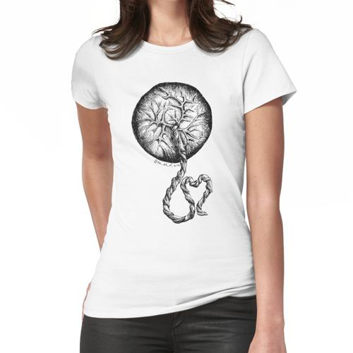 Plazenta Liebe Frauen T-Shirt