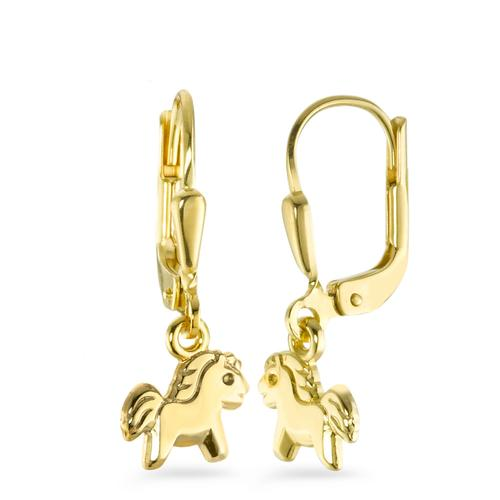 Ohrhänger Gold 375 Ponys