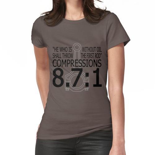 Kompressionen 8.7: 1 Frauen T-Shirt