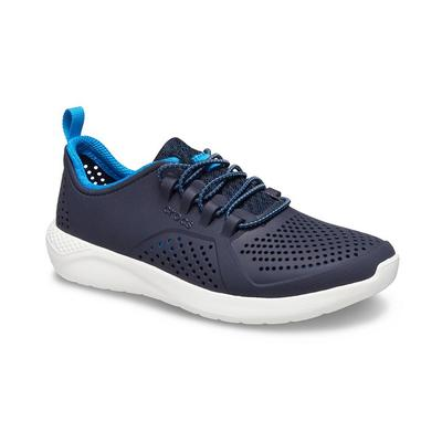 Crocs Navy / White Kids' Literide™ Pacer Shoes