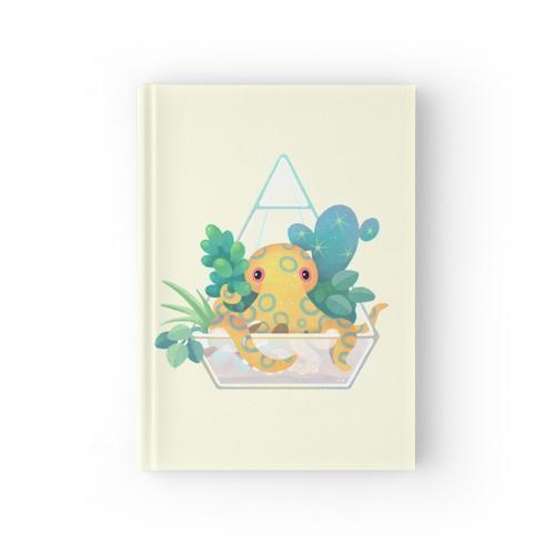Ozean-Terrarium - Meeresschnecke Notizbuch