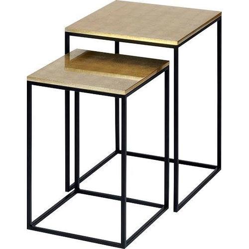 Lambert Beistelltisch, (Set, 2) goldfarben Beistelltische Tische Beistelltisch