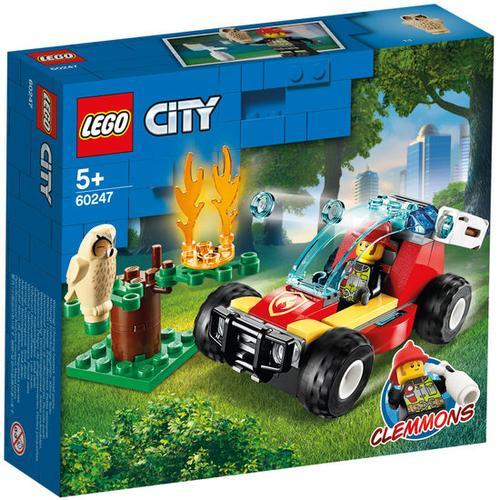 LEGO® City 60247 Waldbrand, bunt