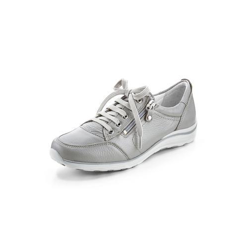 Avena Damen Hirschleder-Sneaker Beige