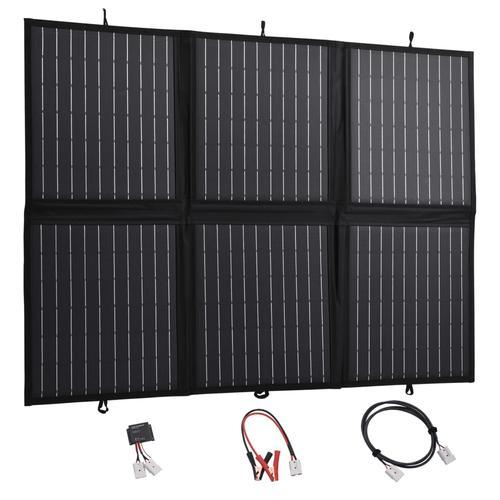 vidaXL Solarmodul Faltbar 120 W 12 V