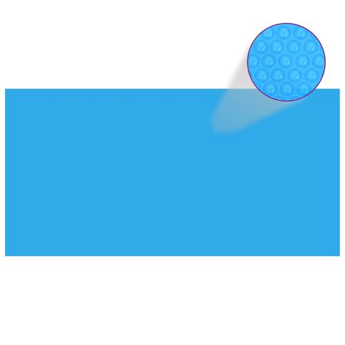 vidaXL Poolabdeckung Blau 400×200 cm PE
