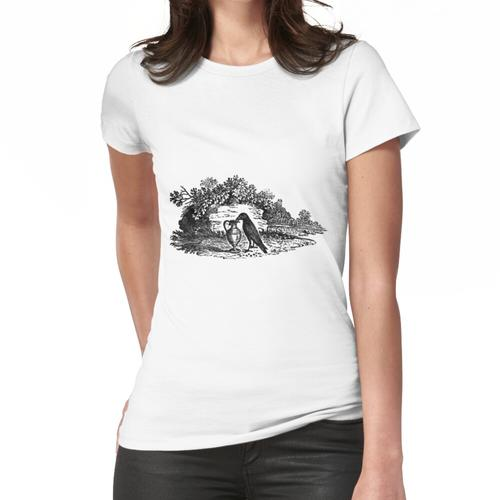 Antike Krähe Aesops Fabel Frauen T-Shirt