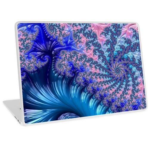 Spiralfractal Laptop Skin