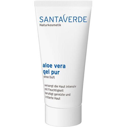 Santaverde Kleingröße Aloe Vera Gel Pur Ohne Duft 50ml Körpergel