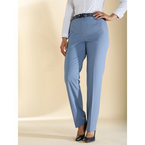 m. collection Stretch-Hose, mit Bauchweg-Effekt blau Damen Gerade Hosen Stretch-Hose
