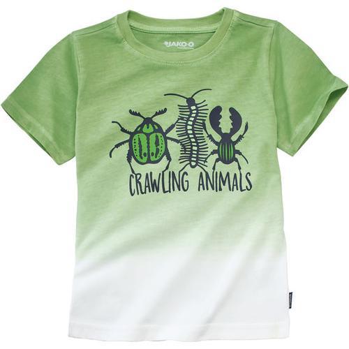 JAKO-O T-Shirt Farbverlauf, grün, Gr. 116/122