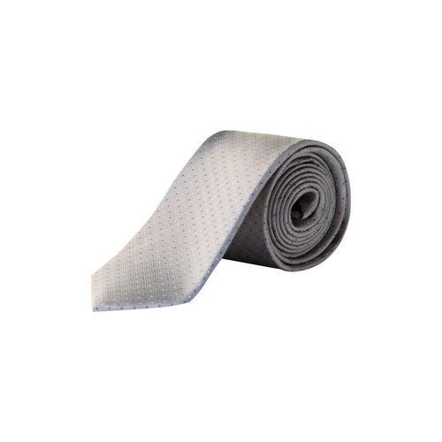 Große Größen Seiden-Krawatte Herren (Größe One Size, sand) | JP1880 Krawatten | Seide, 7,5 cm breit