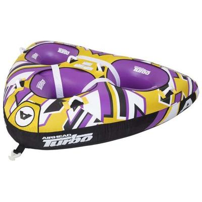 """Airhead Sports Equipment Turbo Towable Yellow/Purple 3 Person AHTB13 Model: AHTB-13"""