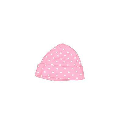 Gerber Beanie Hat: Pink Hearts A...