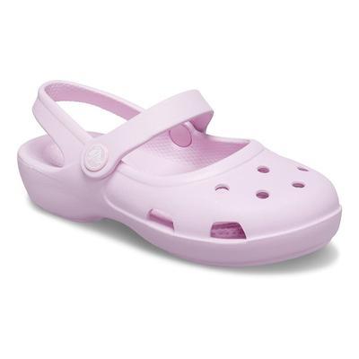 Crocs Ballerina Pink Kids' Classic Mary Jane Shoes
