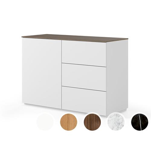 TemaHome Join Highboard - 120H2 Nussbaum