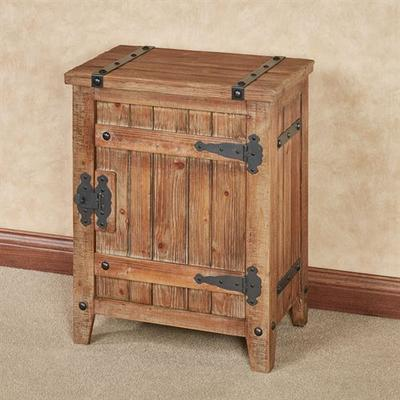 Andover Storage Cabinet Aged Brown , Aged Brown