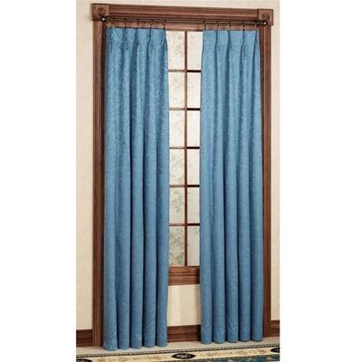Gabrielle Pinch Pleat Curtain Pair, 96 x 84, Crimson