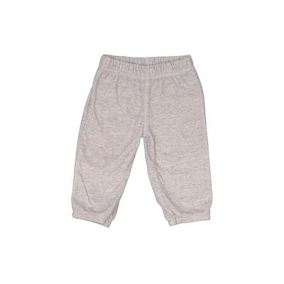 Carter's Fleece Pants - Elastic: Gray Sporting & Activewear - Size 6 Month
