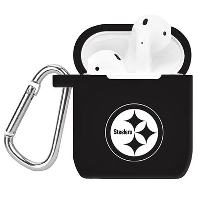 Pittsburgh Steelers AirPods Case Cover - Black