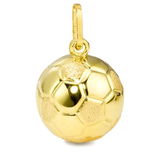 Anhänger 750/18 K Gelbgold Ballsport Ø12 mm