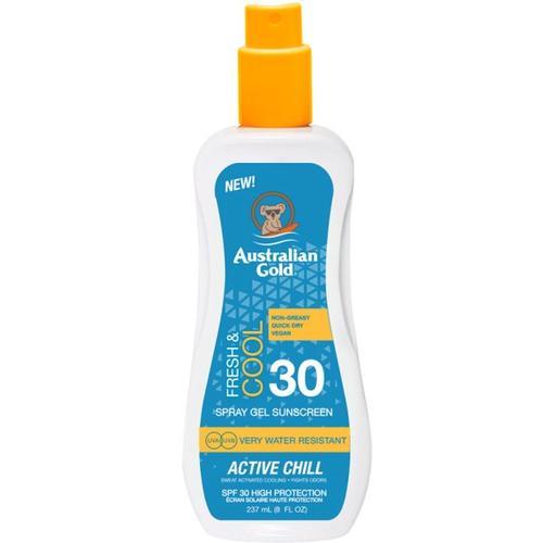 Australian Gold Sunscreen SPF 30 Spray Gel Fresh & Cool 237 ml