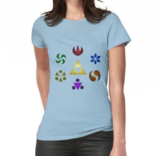 Salbei Medaillons Frauen T-Shirt