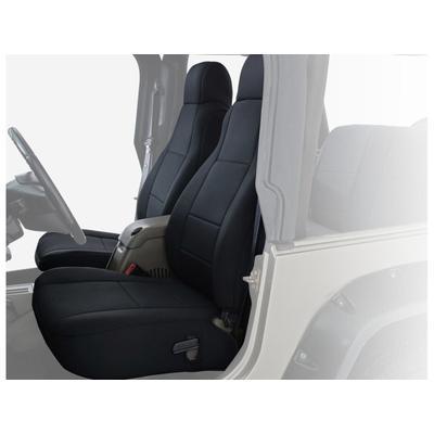 """King 4WD Auto & Atv Seat Covers Jeep Wrangler TJ & LJ 2003 - 2006 Neoprene Black/Black"""
