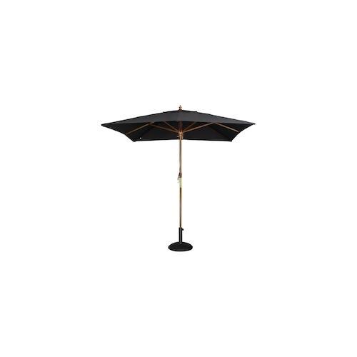 Bolero quadratischer Sonnenschirm schwarz 2,5m