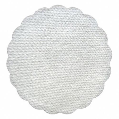 2000x Tassenuntersetzer Glasuntersetzer Airlaid O 9cm weiß