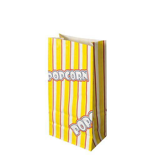 """Papstar 100 Popcorn Tüten, Pergament-Ersatz 1,3 l 20,5 cm x 10,5 cm x 6 cm """"Popcorn"""" fettdicht"""