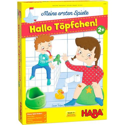 HABA Meine ersten Spiele – Hallo Töpfchen!, bunt