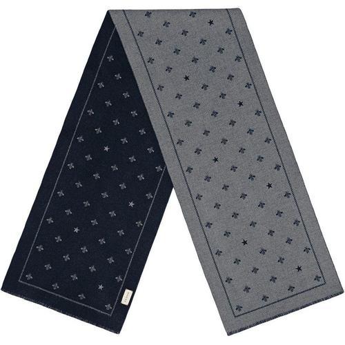Gucci Schal aus Wolle mit Bienen und Sternen