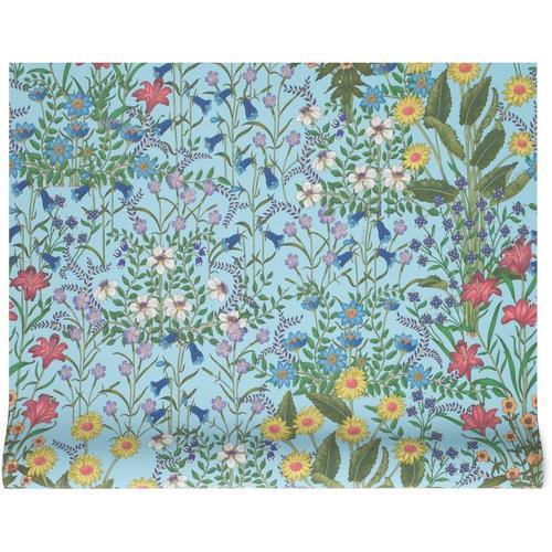 Gucci Tapete mit New Flora-Print