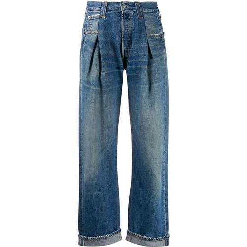 Re/done Jeans mit Falten