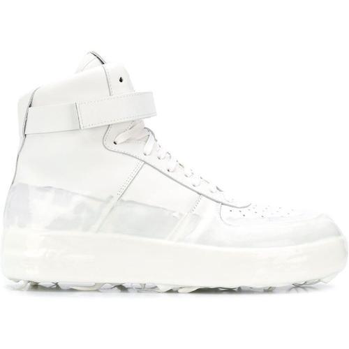 424 Beschichtete High-Top-Sneakers