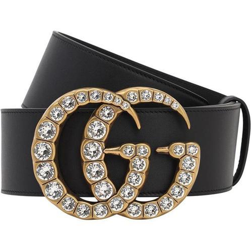 Gucci 55mm Breiter Ledergürtel