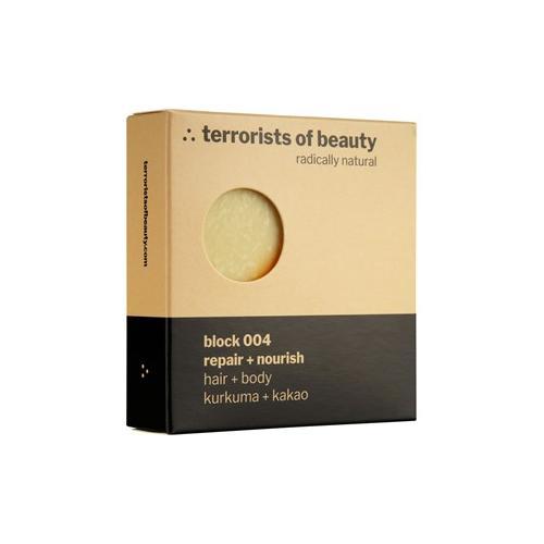 Terrorists of Beauty Pflege Seifen Block Repair + Nourish Nr. 400 1 Stk.